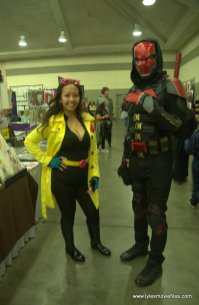 Baltimore Comic Con 2019 cosplay - jubilee and red hood