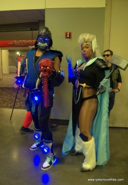 Baltimore Comic Con 2019 cosplay - mortal kombat sub-zero and storm