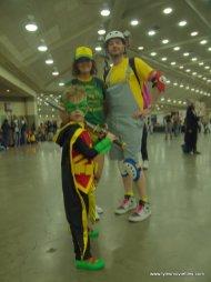 Baltimore Comic Con 2019 cosplay -robin leads cosplay trio