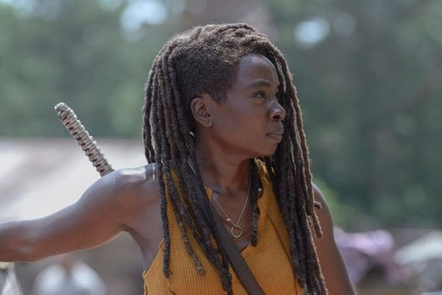 The Walking Dead silence the whisperers review - Michonne