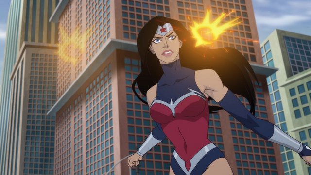 wonder woman bloodlines- explosions