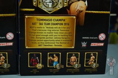 WWE Hall of Champions DIY figure review - ciampa bio
