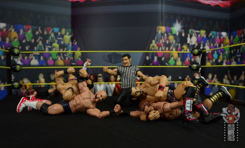 WWE Hall of Champions DIY figure review - double submissions