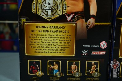 WWE Hall of Champions DIY figure review - gargano bio