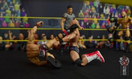 WWE Hall of Champions DIY figure review - gargano spinning kick