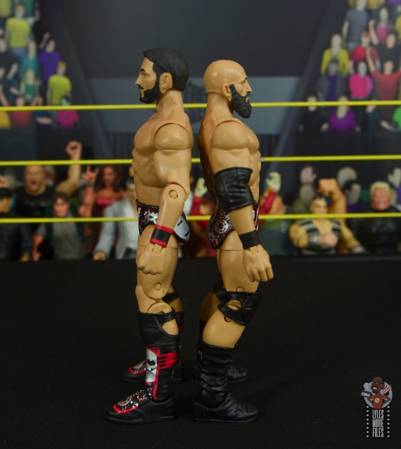 WWE Hall of Champions DIY figure review - side