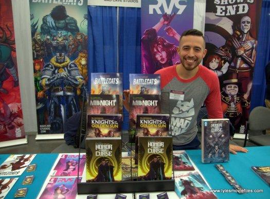 baltimore comic con 2019 - madcave studios booth