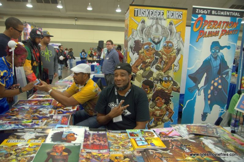 baltimore comic con 2019 - tuskegee heirs