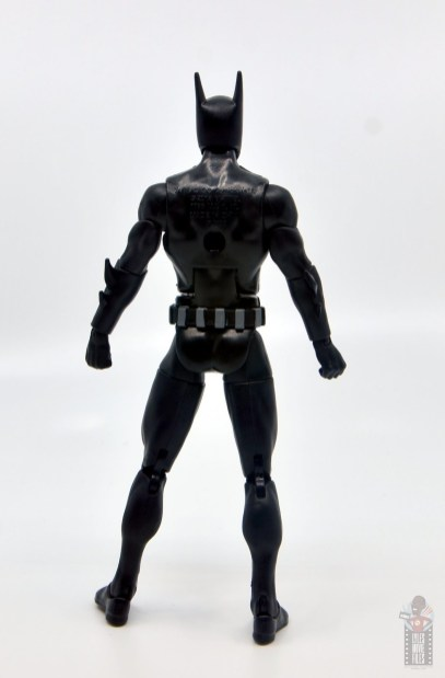 dc multiverse batman beyond figure review - rear