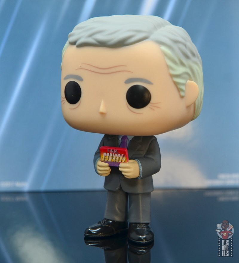 funko pop alex trebek figure review - left side