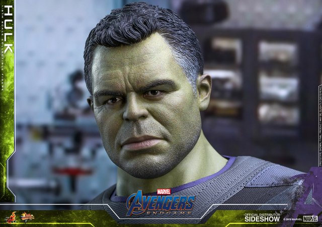 hot toys avengers endgame hulk figure -head sculpt