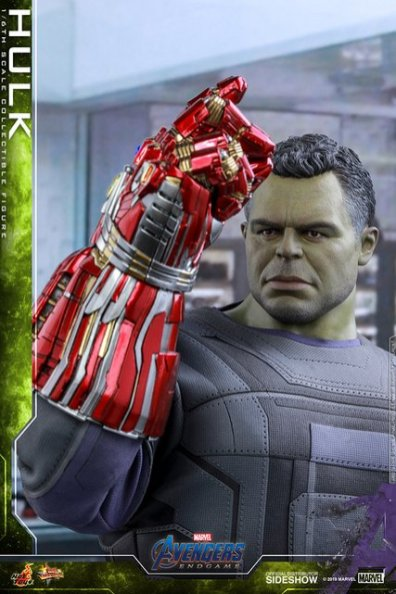 hot toys avengers endgame hulk figure -snapping