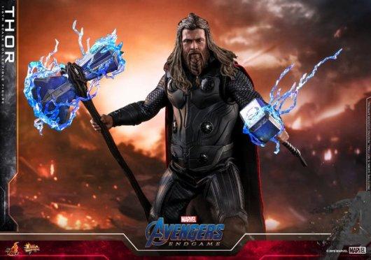 hot toys avengers endgame thor figure - ready for battle
