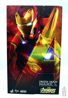 hot toys avengers infinity war iron man figure review - package front
