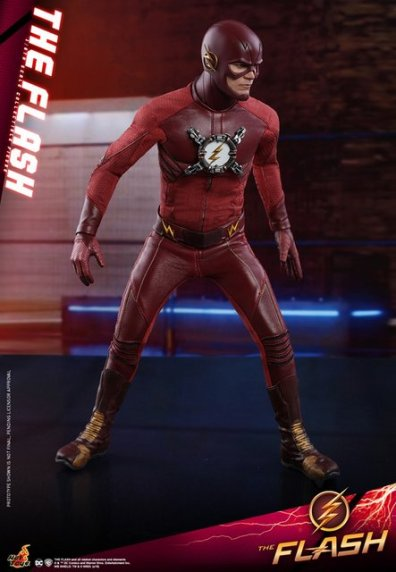 hot toys cw the flash figure - running stance