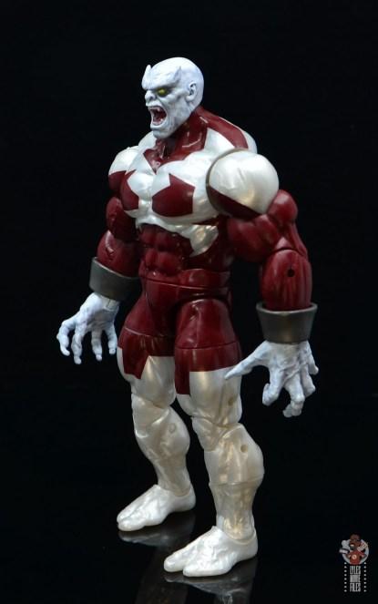 marvel legends build a figure caliban figure review - left side