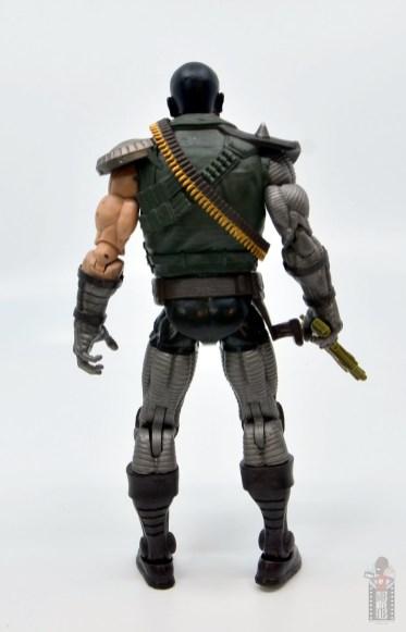 marvel legends skullbuster figure review - rear
