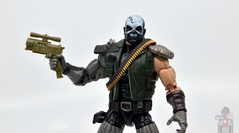 marvel legends skullbuster figure review - wide shot