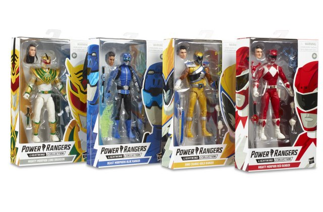 power rangers lightning collection wave 3 -packaged