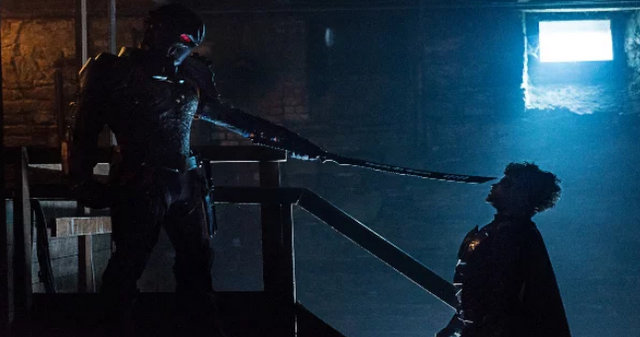 titans deathstroke review - slade vs jason