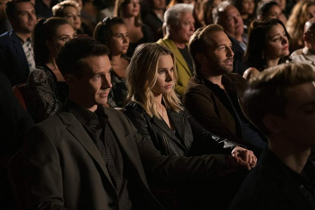 veronica mars the complete first season 2019 review - veronica, logan and dick