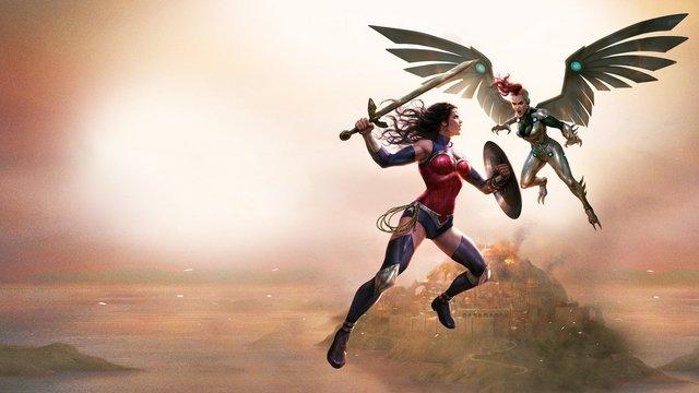 wonder woman bloodlines review - wonder woman vs silver swan