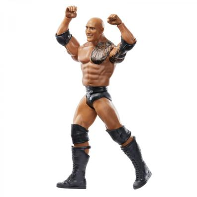wwe basics wrestlemania 36 the rock - arms up