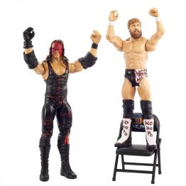 wwe battle pack wrestlemania 36 kane and daniel bryan -side to side