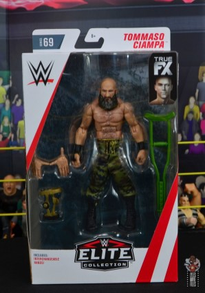 wwe elite 69 tommaso ciampa figure review - package front