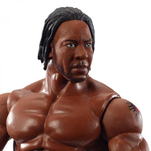 wwe elite wrestlemania 36 booker t -close up