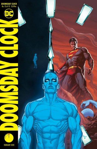 Doomsday Clock #12 cover VAR