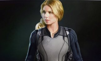 falcon and the winter soldier - sharon carter concept art