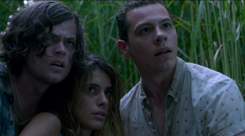 in the tall grass movie review - harrison gilbertson, laysla de oliveria and avery whitted