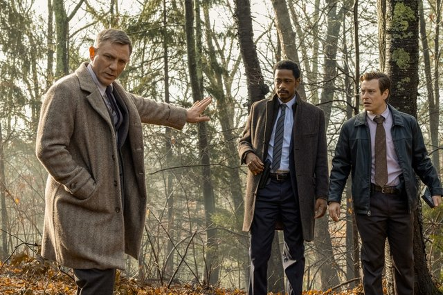 knives out review - daniel craig, lakeith stanfield and noah segan
