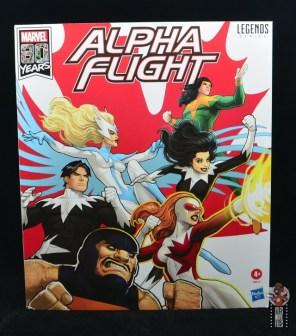 marvel legends alpha flight figure set review - package front