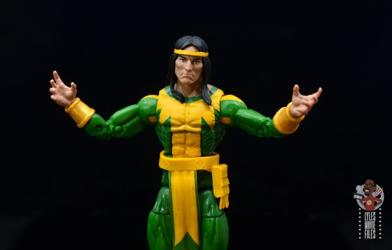 marvel legends alpha flight figure set review - shaman figure - main pic