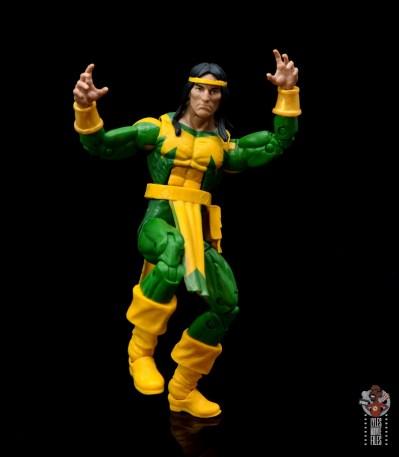 marvel legends alpha flight figure set review - shaman figure - ready for battle
