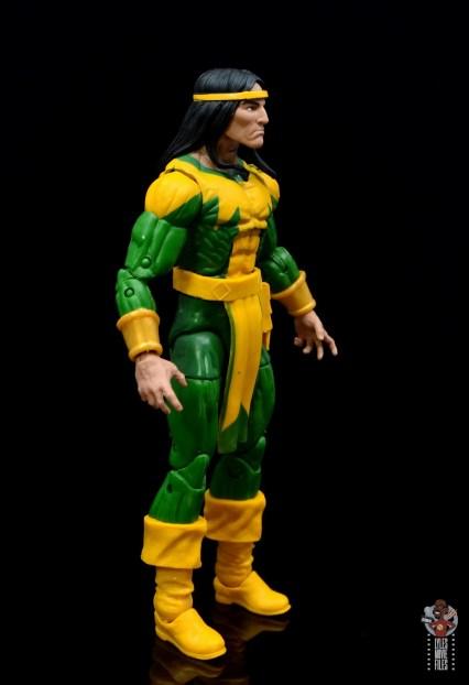 marvel legends alpha flight figure set review - shaman figure - right side