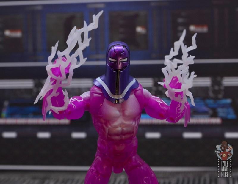 marvel legends living laser figure review - wider lightning strike pose