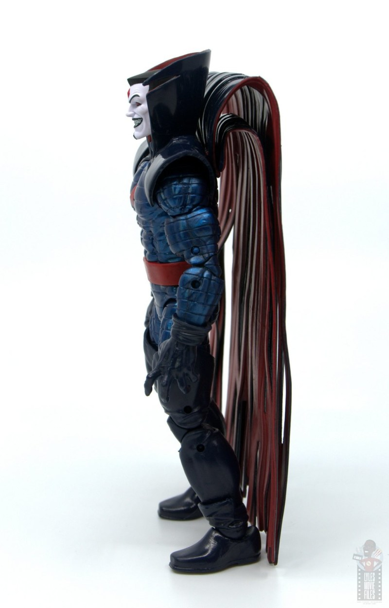 marvel legends mister sinister figure review - cape side