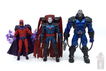 marvel legends mister sinister figure review - scale with magneto and apocalypse