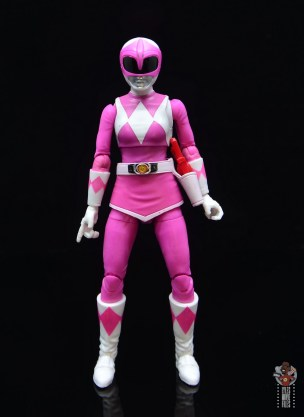 power rangers lightning collection pink ranger figure review - front