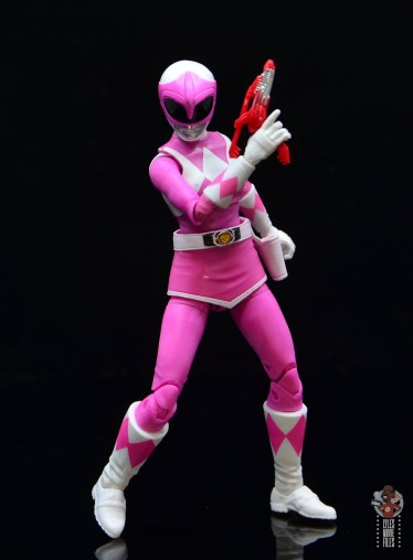 power rangers lightning collection pink ranger figure review -raising blaster