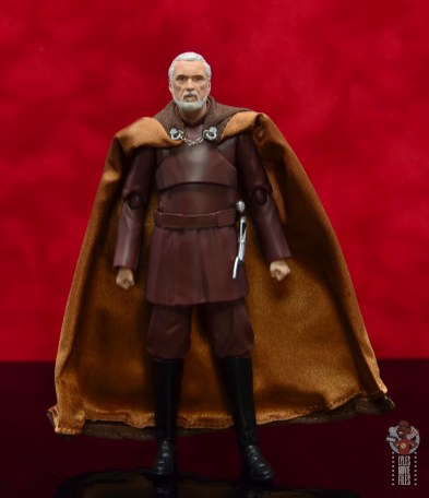 sh figuarts count dooku figure review - front