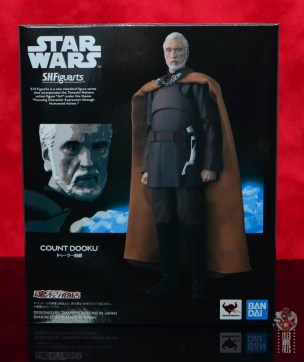 sh figuarts count dooku figure review - package front