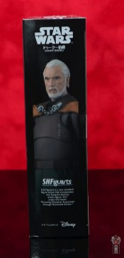 sh figuarts count dooku figure review -package side