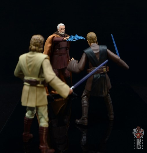 sh figuarts count dooku figure review -shocking anakin skywalker