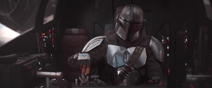 the mandalorian - the sin review - mando flying