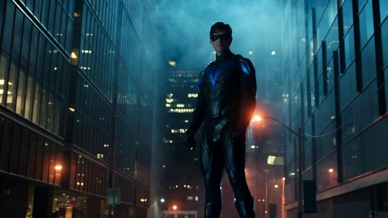 titans nightwing debut