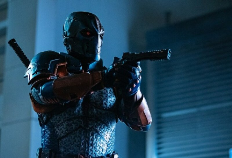 titans - nightwing review - deathstroke